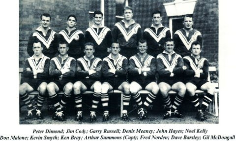 Wests 1962 Grand Final Team.