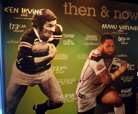 Stuff Thats Left Behind When University >> Noel Kelly's Kids - The Rugby League Museum. One of a Kind. I heard that a new Rugby League ...