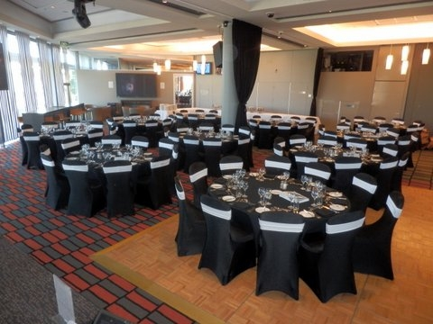 the room before the big event